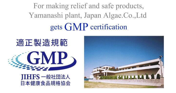 Sản phẩm tảo xoắn đạt chất lượng GPM an toàn