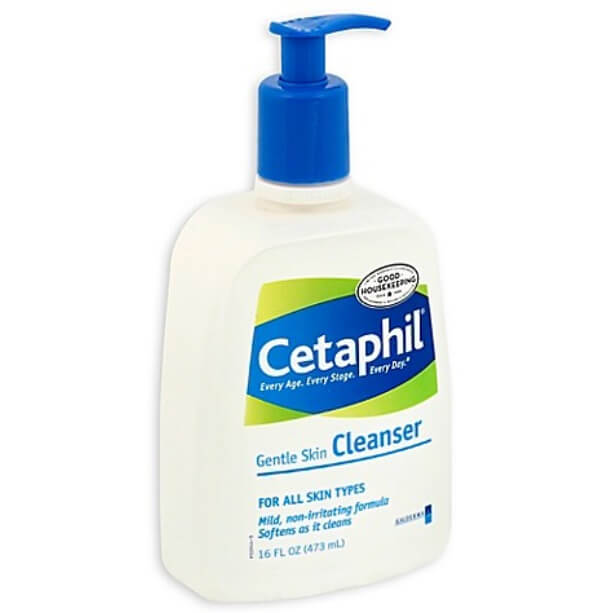 Sữa rửa mặt cetaphil luôn được bác sỹ da liễu khuyên dùng