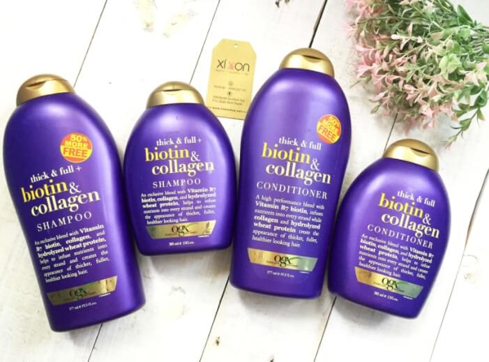 Các sản phẩm chăm sóc tóc đều có bổ sung Collagen