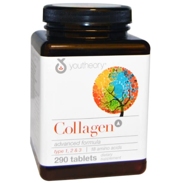 Collagen Youtheory bổ sung cả 3 loại collagen type 1,2,3 tốt cho cơ thể