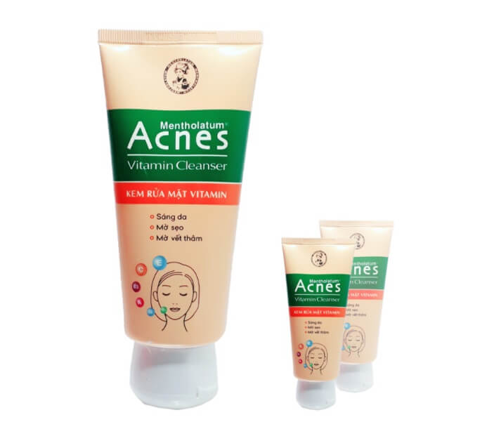 Sữa rửa mặt acnes thích hợp cho da mụn