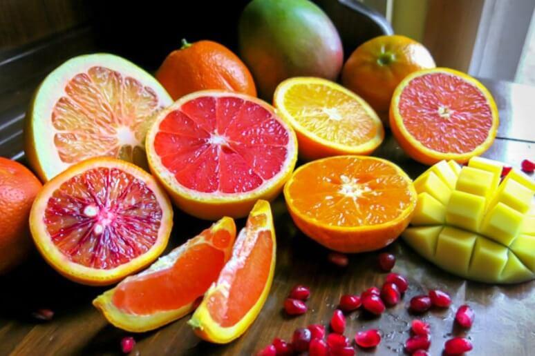 AHA thường có chiết xuất từ hoa quả