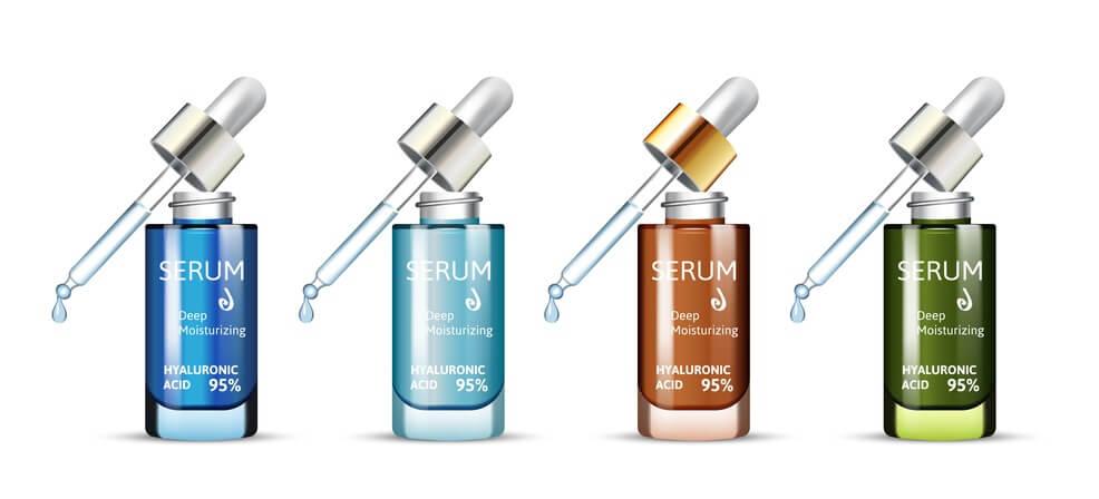 Các loại serum đều có tính chất dưỡng ẩm sâu