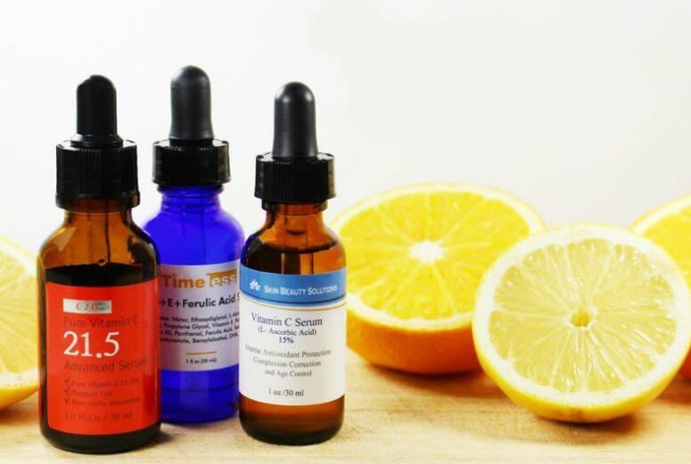 Nồng độ của vitamin C được sử dụng tùy thuộc vào từng hãng sản xuất