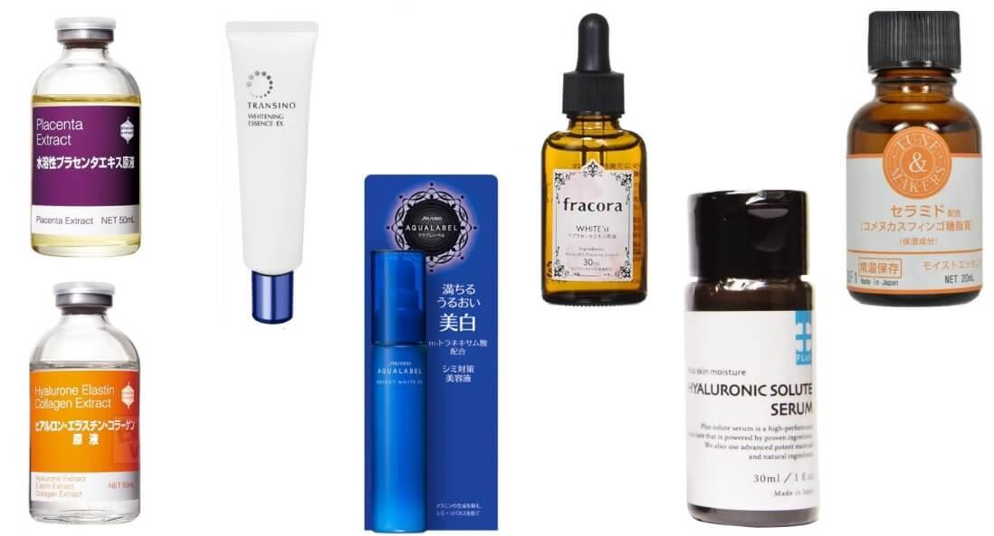 6 loại serum dưỡng da của Nhật bạn nên sử dụng một lần