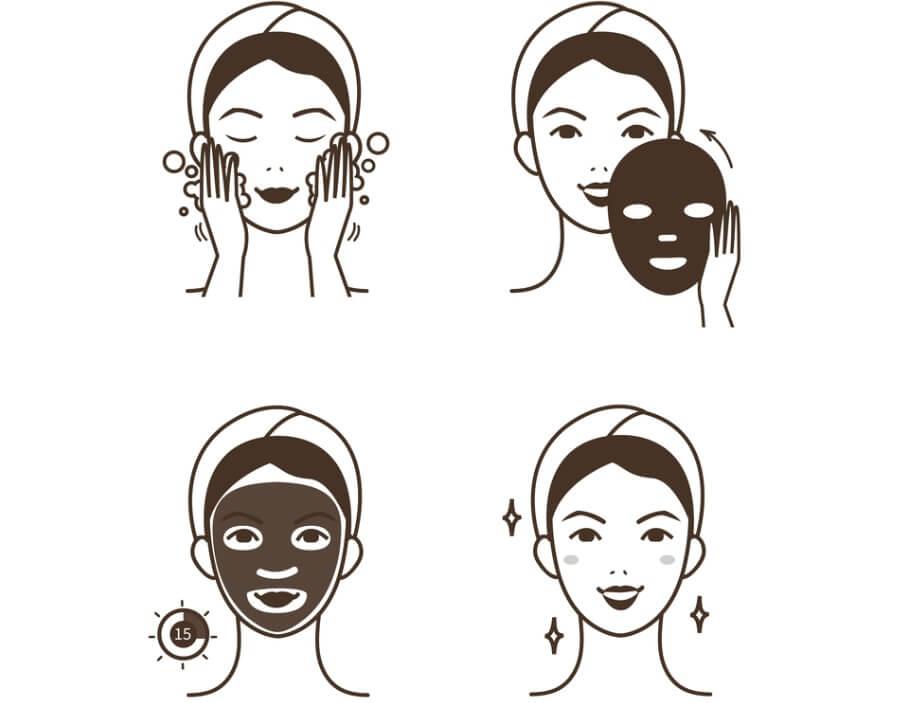Cách đắp mặt nạ giấy