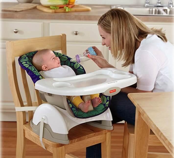 Ghế ngả theo nhiều nấc có thể dùng cho bé sơ sinh