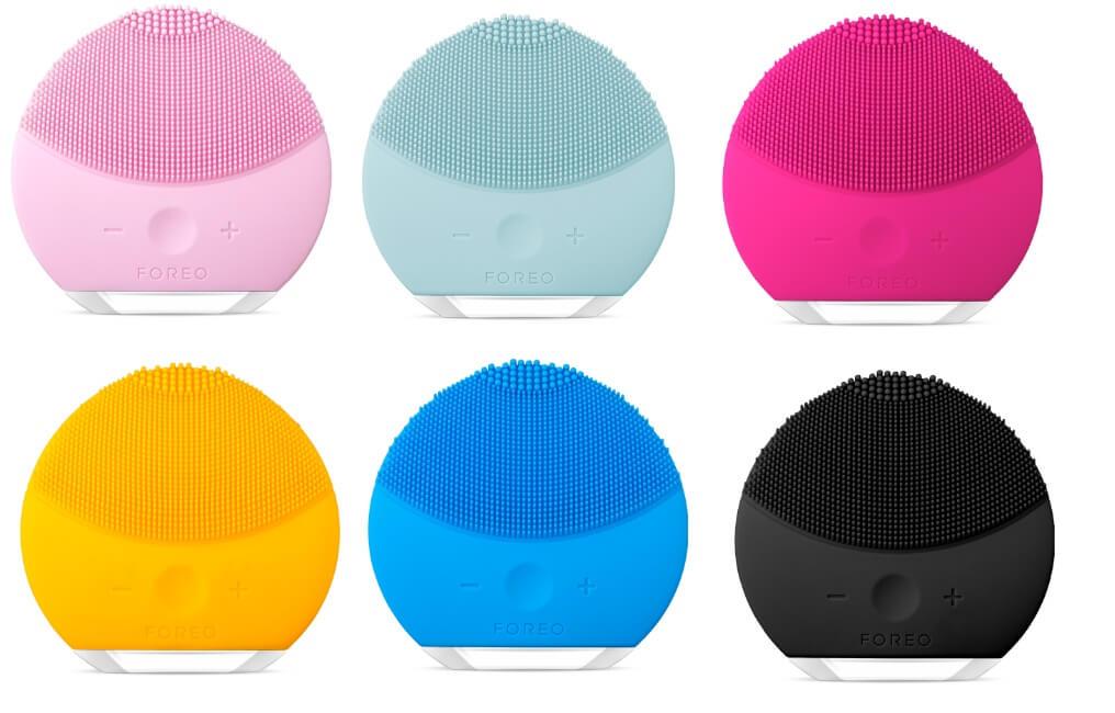 Máy rửa mặt Foreo Luna Mini 2 có 6 màu đẻ bạn lựa chọn