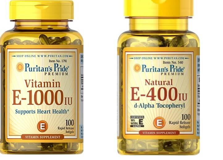 Viên uống Puritan's Pride Vitamin E-1000
