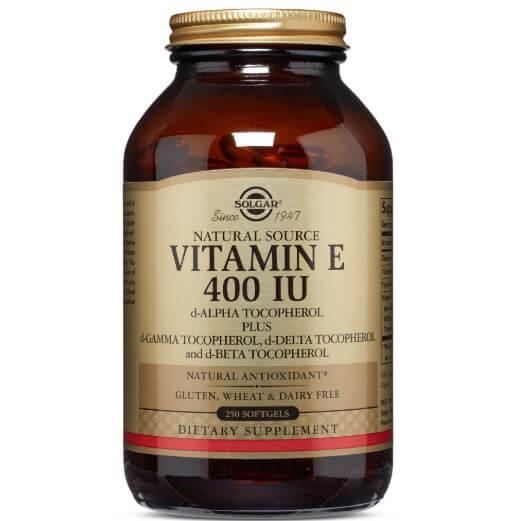 Viên uống Solgar Vitamin E 400IU