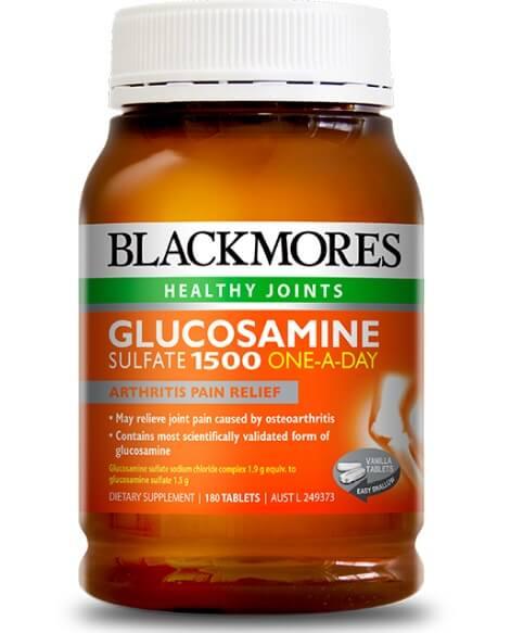 Blackmores glucosamine là một trong những sản phẩm glucosamine sunfate tốt nhất của Úc