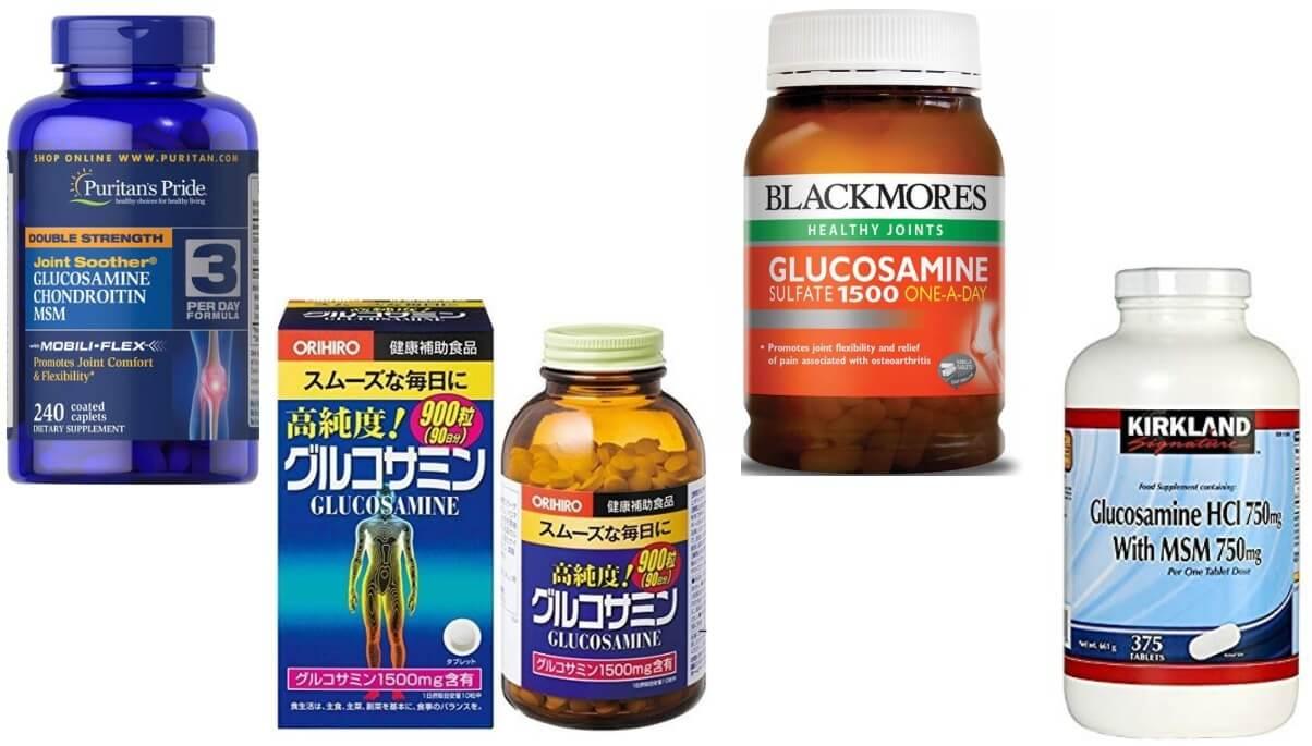 Glucosamine loại nào tốt nhất hiện nay