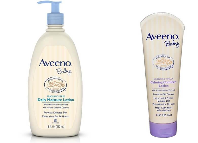 Kem dưỡng ẩm aveno dành cho bé có làn da nhạy cảm