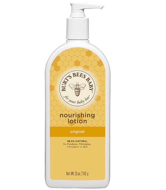 Kem dưỡng ẩm cho trẻ sơ sinh Burt's bee baby Nourishing Lotion là dòng kem organic