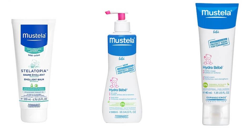 Kem dưỡng ẩm mustela cực kỳ an toàn cho trẻ sơ sinh