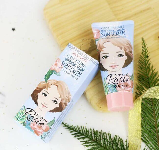 Kem Chống Nắng Rosie là dòng sản phẩm nội địa Hàn Quốc