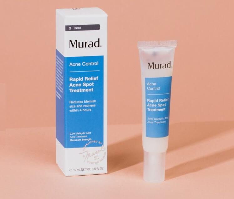 Kem Trị Mụn Murad Rapid Spot – Khắc Tinh Của Mụn Bọc Mụn Đỏ Sau 4h