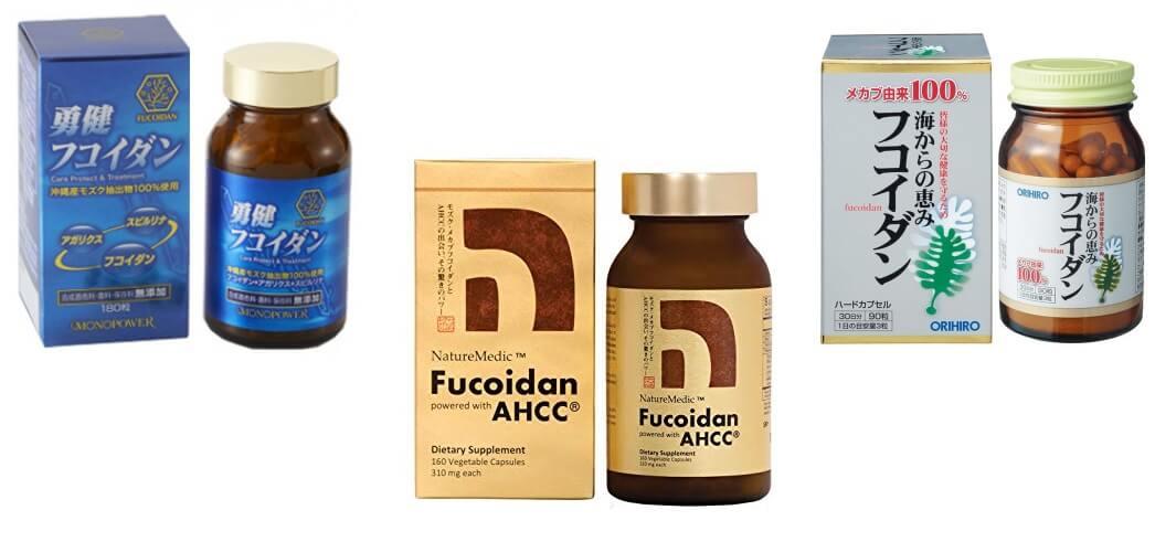 Để chữa bệnh cần sử dụng các loại Fucoidan ở dạng chiết xuất mới đạt hiệu quả