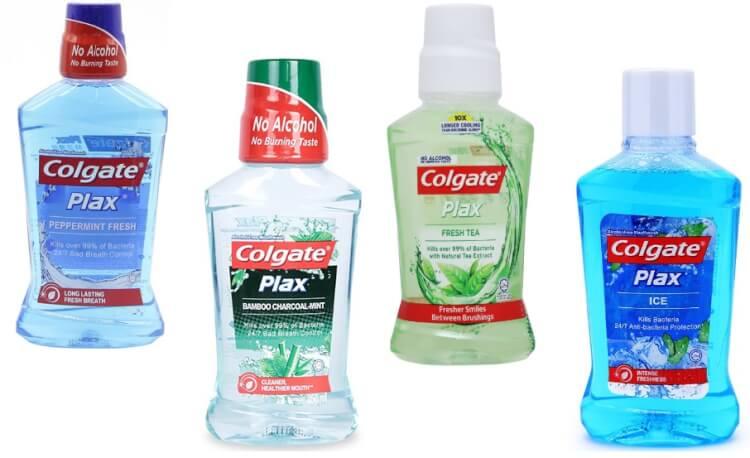 Nước súc miệng colgate thích hợp để sử dụng hàng ngày