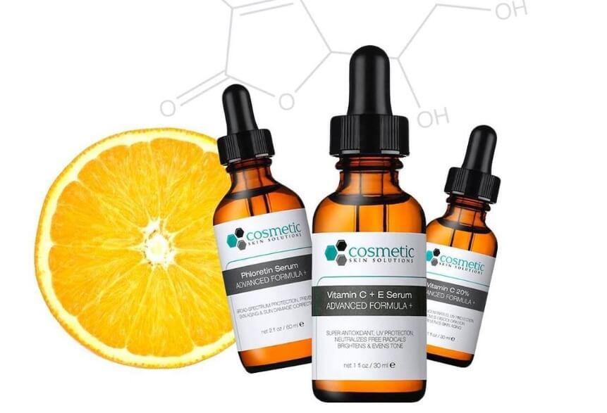Serum Cosmetic Skin Solutions Vitamin C + E có thể so sánh với SkinCeuticals đình đàm