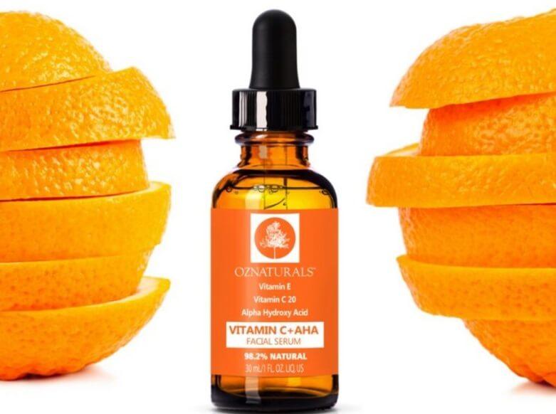 Serum Vitamin C OZ Naturals cực kỳ lành tính và không gây kích ứng