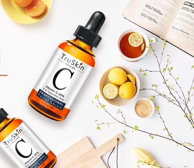 Serum Vitamin C TruSkin Naturals với khả năng chống oxy hóa tốt