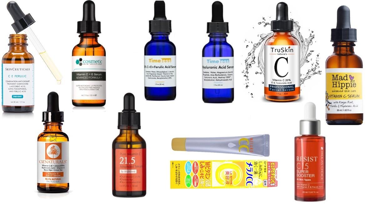 Kết quả hình ảnh cho vitamin c serum