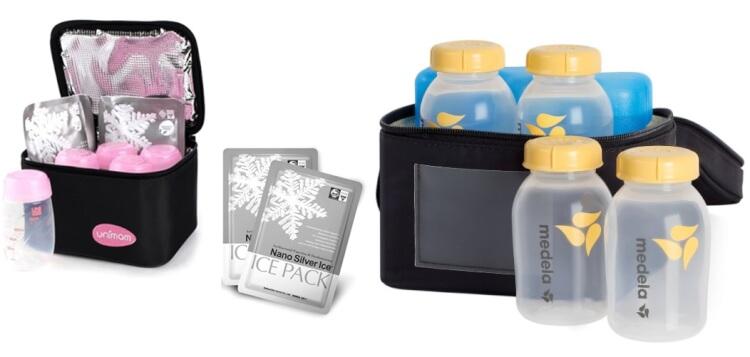 Túi giữ nhiệt đá khô có thể bảo quản sữa lên đến 24h