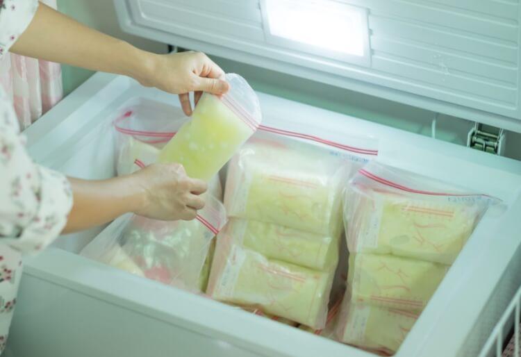 Tủ đông chuyên dụng có thể bảo quản sữa từ 6 đến 12 tháng