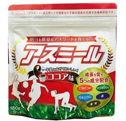 Sữa Asumiru là dòng sữa phát triển chiều cao tốt nhất của Nhật Bản