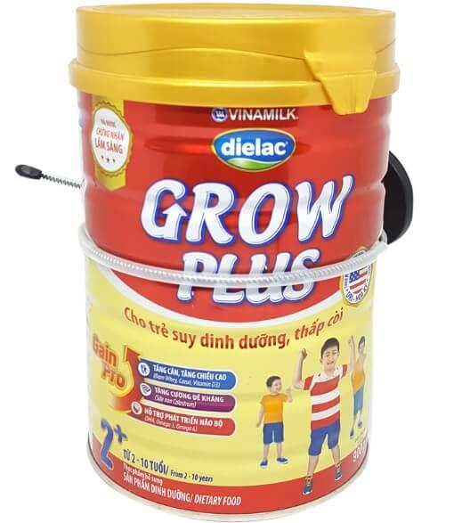Sữa tăng chiều cao Dielac Grow giúp bé phát triển chiều cao tốt