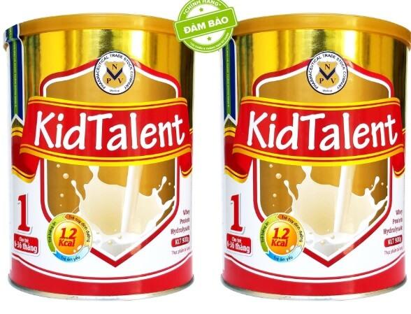Sữa tăng chiều cao và tăng cân Kidtalent được các bác sỹ khuyên dùng