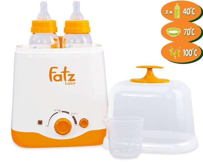 Fatz là dòng máy hâm sữa rất dễ sẻ dụng là được cực kỳ nhiều mẹ tin dùng