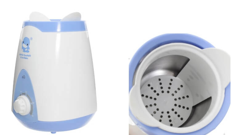 Máy Hâm Sữa Kuku KU9018 cũng là loại máy được rất nhiều mẹ lựa chọn