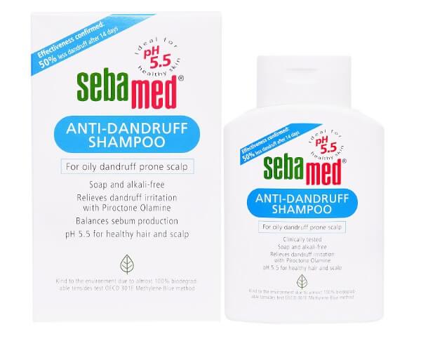 Dầu Gội Trị Gàu pH5.5 Sebamed Anti-Dandruff