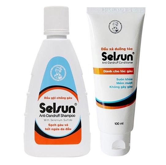 Dầu gội trị gàu Selsun là sản phẩm được bác sỹ da liễu khuyên dùng