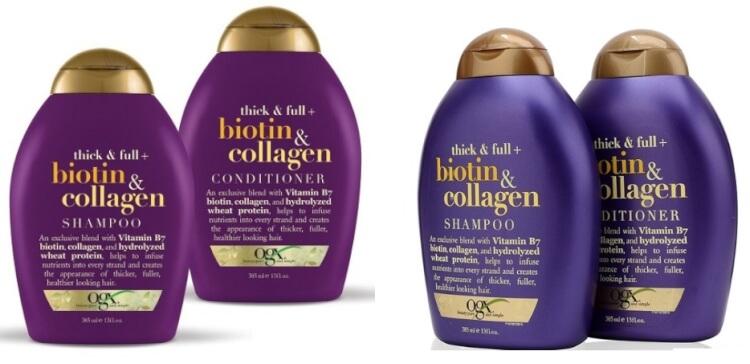 Dầu gội trị rụng tóc OGX BIOTIN & COLLAGEN