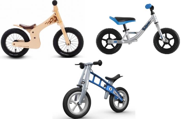 Xe thăng bằng có thể làm bằng gỗ, hợp kim nhôm hoặc thép và nhựa composite