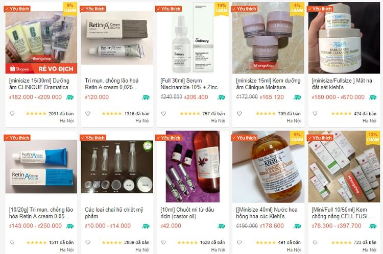 Shop Mỹ phẩm SHARE/FULL âu-mỹ
