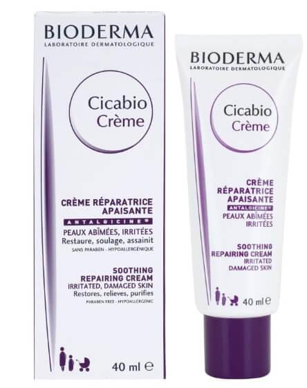 Kem dưỡng ẩm cho da nhạy cảm Bioderma Cicabio Soothing Repairing 1