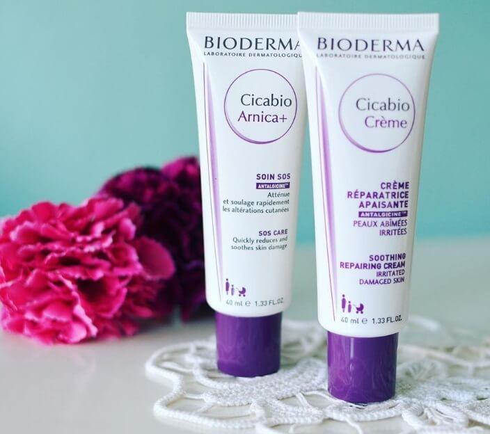 Kem dưỡng ẩm cho da nhạy cảm Bioderma Cicabio Soothing Repairing 2