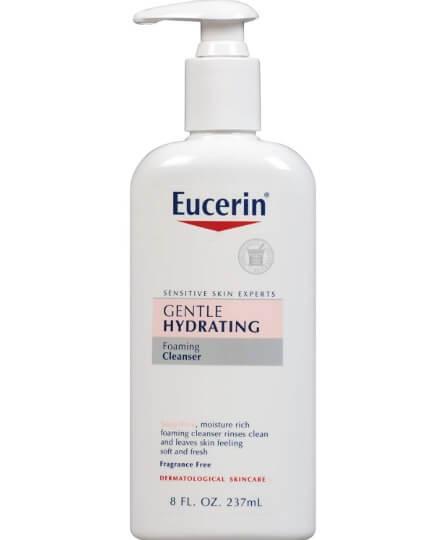 Sữa rửa mặt cho da nhạy cảm Eucerin Gentle Hydrating Cleanser