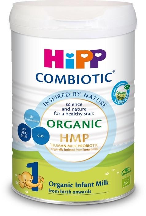 Sữa bột công thức hữu cơ HiPP ORGANIC COMBIOTIC® số 1 – Dành cho trẻ từ 0-6 tháng