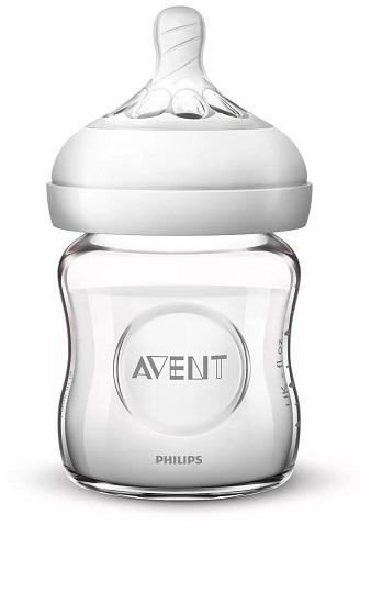 Bình sữa thủy tinh, thiết kế tự nhiên Philips Avent SCF671